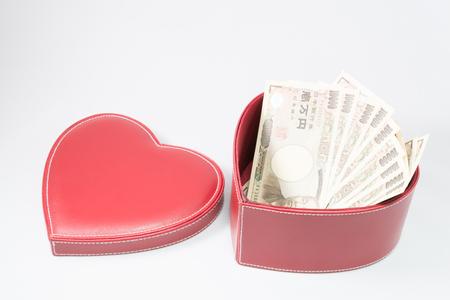 yen note: Love and money