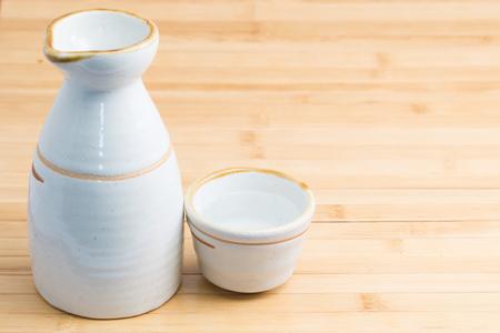 Sake Stockfoto