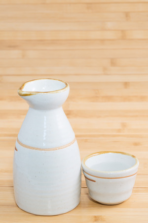intoxicant: Sake Stock Photo