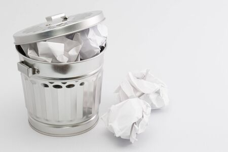 waste material: Garbage box