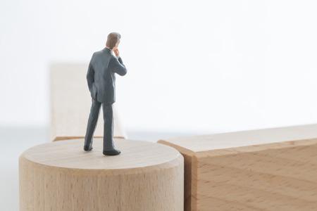 Zakenman van het keerpunt