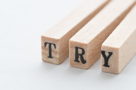 to try: TRY typo