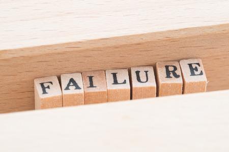 discouraging: Failure