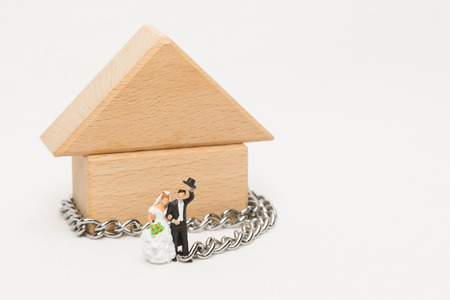 disciplinary action: Groom in chains