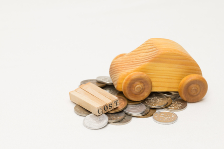 repayment: Wooden cars and money