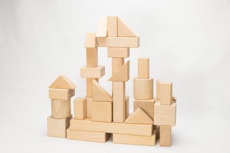 Château des blocs de construction Banque d'images - 84120266