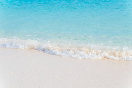 White sandy beaches and blue seas 写真素材