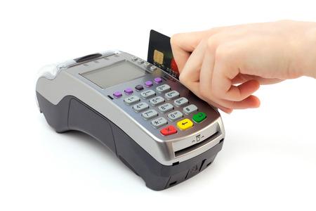 removing debt: Bank terminal