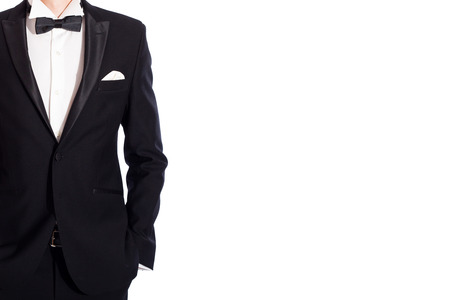 jazzbow: man in suit on white background