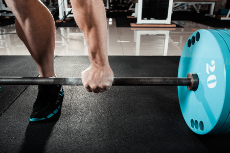 lift hands: hand on the barbell