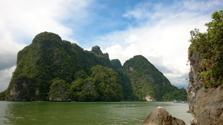 phi phi: One of the islands in Mu Ko Phi Phi national park, Thailand Stock Photo