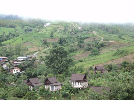 hillside: Hillside village