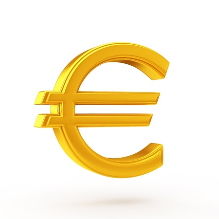 euro: golden euro symbol