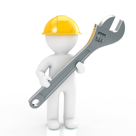 repairer: Repairer Stock Photo