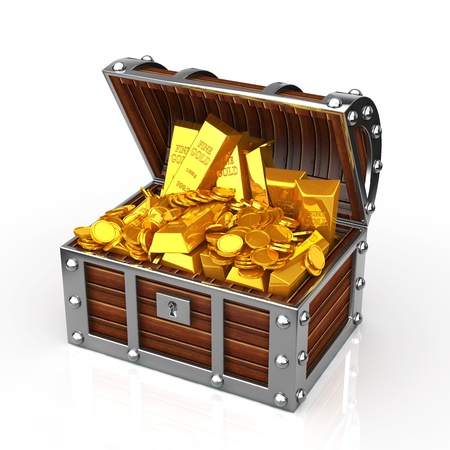 lucky money: treasure box