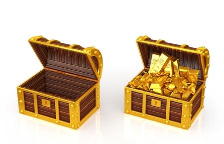 treasure box photo