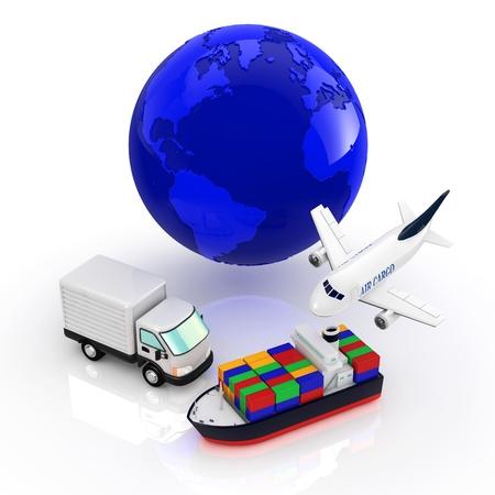 haulage: logistics Stock Photo
