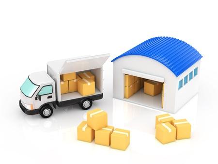 shipping Banco de Imagens
