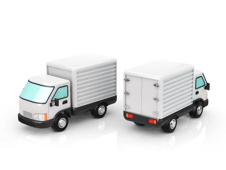 Camion Banque d'images - 21805870