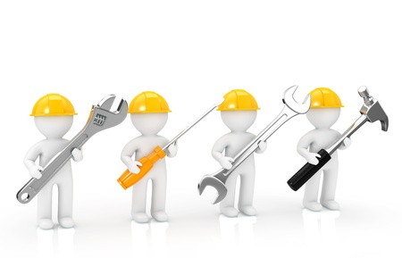 repairer: Repairer of 4 Person