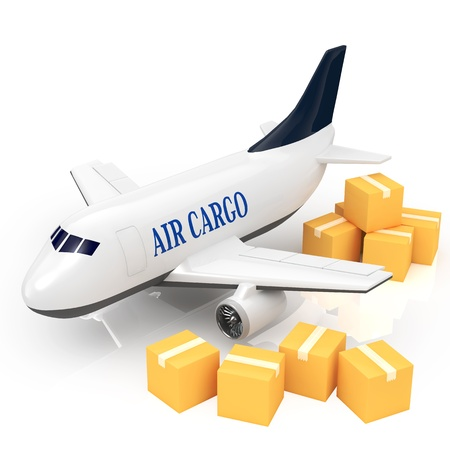 air freight: Cargo jet