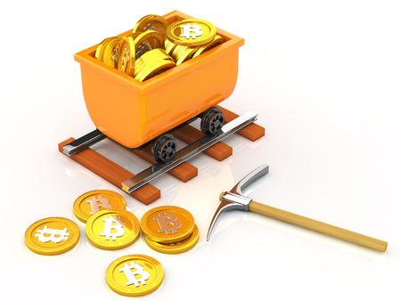 mined: State of bit coins mined