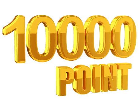 Loyalty program 10000 Points photo