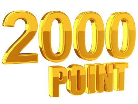 포인트 제도 2000 포인트 스톡 콘텐츠 - 35922846