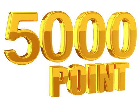 ロイヤルティ プログラム 5000 ポイント 写真素材