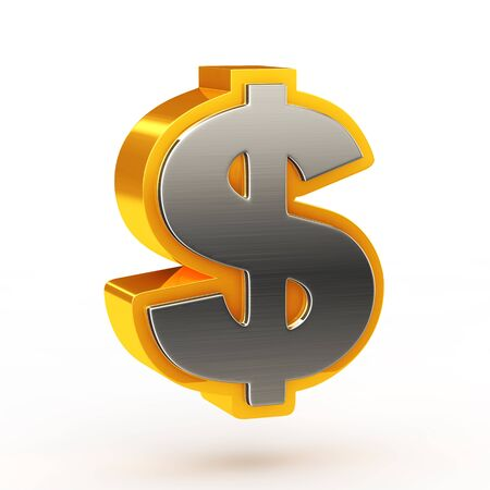 rn3d: Dollar currency symbol Stock Photo