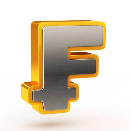 rn3d: Franc currency symbol