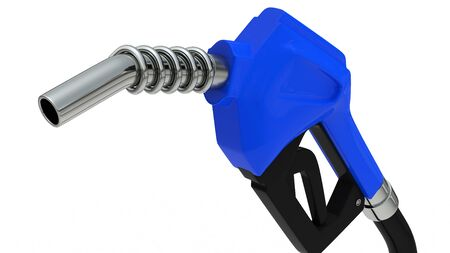 Fueling of gasoline Stock Photo