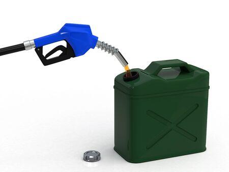 stockpile: Stockpile of gasoline Stock Photo