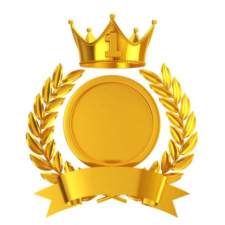 no1: Gold No.1 emblem