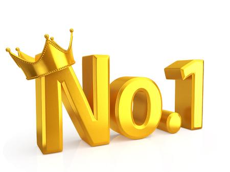 numero uno: Oro número uno