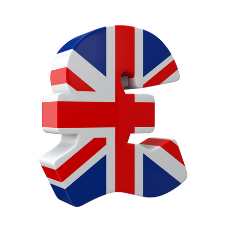 National flag pattern of pound sign