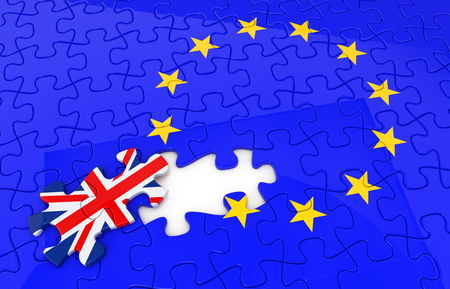breakaway: breakaway problem from the European Union Stock Photo