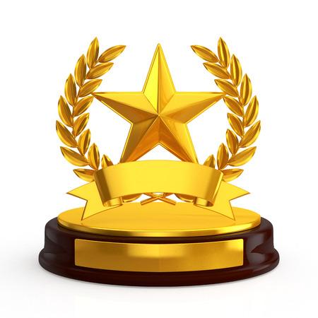 Feier: Stern-Emblem Trophäe