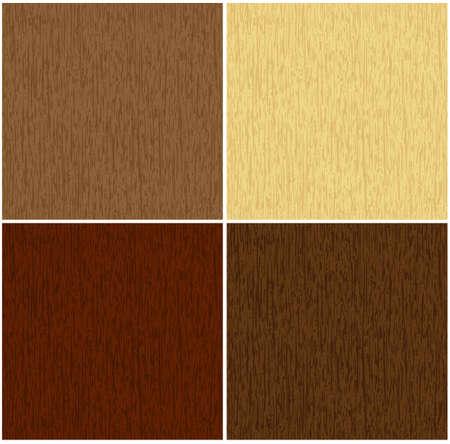perfecto que coincidan con textura transparente de madera en 4 colores  Vectores