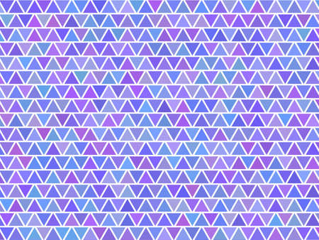 background of a triangle  mosaic Vector