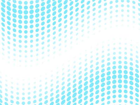 abstract wave of circles