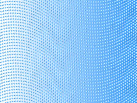 wavy lines of blue diamonds Illustration