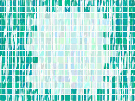 background of a square mosaic Stock Vector - 7986801