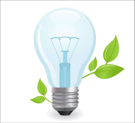 plantlet:  electric light bulb