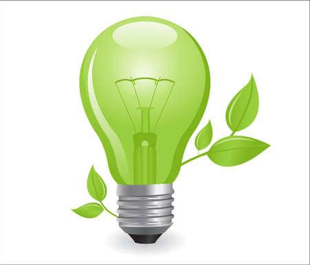 electric light bulb Stock Vector - 7986896