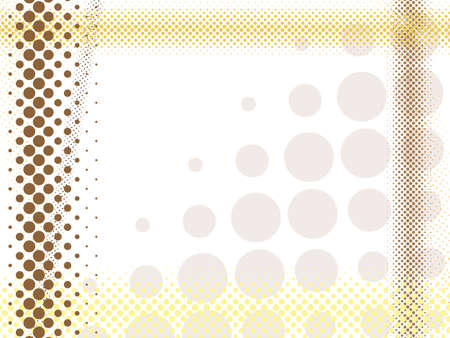 abstract light halftone background Illustration