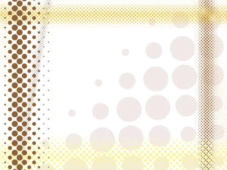braun:  abstract light halftone background Illustration