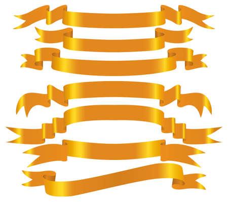 gold  banner set