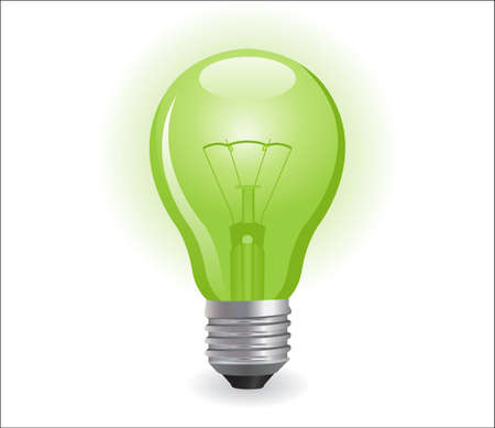 bombilla: bombilla el�ctrica incandescente  Vectores