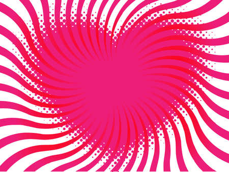 contour heart of halftone elements Vector